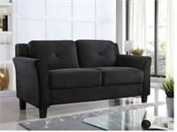 NEW Black Sofa Loveseat - $400 Retail