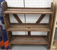 Hand Made Early 20th C Wooden Shelf