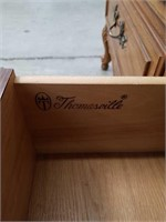 """Walnut cabinet made by THOMASVILLE / 54""""×55"""",22""""D"""