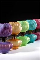 Rare Artichoke miniature lamps
