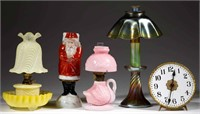 Miniature lamps from Part II of the Lynch Collection