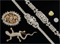 Excellent selection of estate jewelry