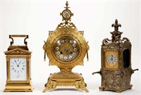 Carriage clocks and other fine timepieces