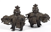 Large selection of Asian decorative arts