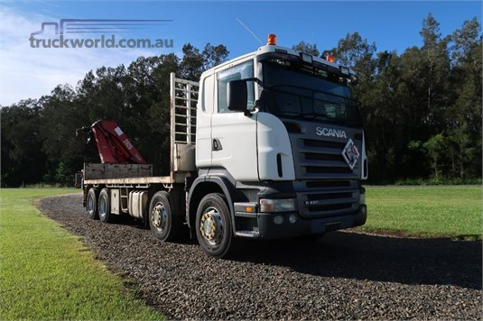 2008 Scania R420 - Trucks for Sale