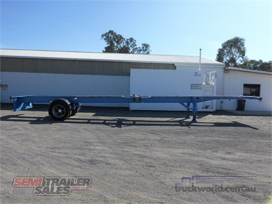 2010 Perrins Skeletal Trailer - Trailers for Sale