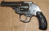 Iver Johnson First Mod Safety Hammerless Revolver