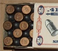 1 - 50 Round Box  Navy Arms 41 Short Rimfire