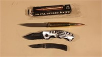 3 Knives ( Winchester - Smith & Wesson - 50 Cal )