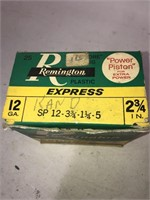 Vintage Remington Plastic Express Box