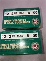 2-25 Rnd Box Estate Cartridge 12ga