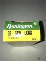 44 Rnds Remington 32 S&w Long 98gr Lead
