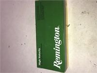 20 Rnd Box Remington 222 Rem 50gr Psp