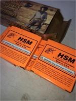 20 Rnds Hsm Cowboy Action Cartridges 38-55win