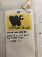 2 Weaver Top Mount Base