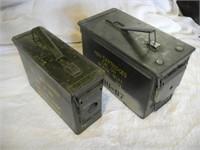 2 Ammo Cans (1-50 Cal & 1-30 Cal)