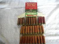 31 Rnds Vintage 20ga Paper Shells