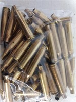 Bag 76 Count 300 Win Mag Empty Brass