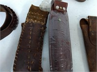 Leather Holsters & Belt