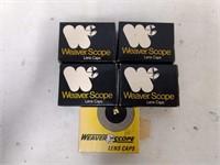 5 Boxes Weaver Scope Caps