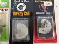 9 Assorted Turkey Calls