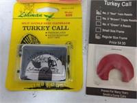 6 Assorted Turkey Calls