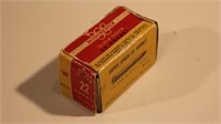 Vintage Box Winchester 22 Hornet's