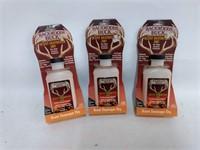 3 Bottles Backwoods Buck Scent Destroyer Dry