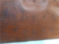Custom Made Leather Gun Scabbard