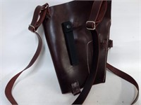 Custom Made Leather Chest Holster
