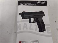 Walther Q4 Tac Pistol Recoil Spring & Manual