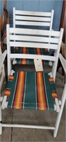 6 Wooden Patio Chairs