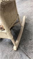 Small Wicker Rocking Chair
