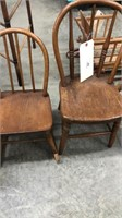 2 Small Child / Doll Chairs (1 Rocking)