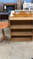 Small Round Table & Wall Shelves