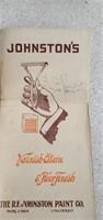 Vintage Graining Flooring Tool W/ Paper Work &