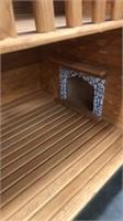 Log Cabin Doll House