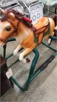 Jumping Horse