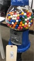 Blue Gum Ball Machine