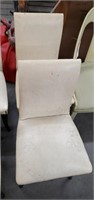 5 Dining Chairs & Bench W/ Rush Bottom
