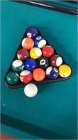 Kids Pool Table W/ 2 Sticks, Game Balls