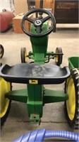 John Deere Pedal Tractor W/ Wagon