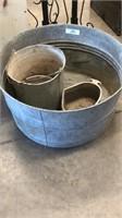 Aluminum Tub, Buckets & Misc