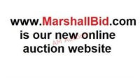 We have a new AUCTION WEBSITE - MARSHALLBID.COM