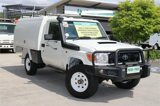 2015 Toyota Landcruiser Vdj79r Workmate - Light Commercial for Sale