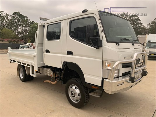 2018 Fuso Canter 4x4 - Trucks for Sale