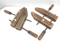Vintage Jorgenson Wood Clamps