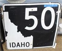 Idaho Highway 50 Sign