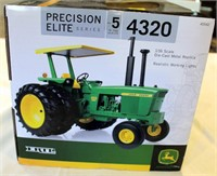 JD 4320 Toy Tractor, Precision Elite, (view 2)
