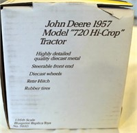 1957 JD Mdl 720 Hi-Crop Toy Tractor (view 2)